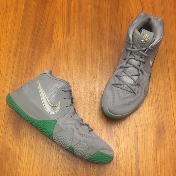 hot sale online f5766 551ab WORN 2X Nike Kyrie 4 City Guardians Size 13